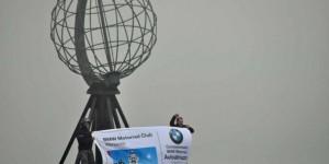 Globus am Nordkap