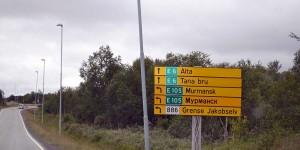 Zweisprachig in Kirkenes