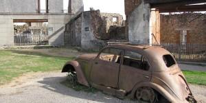 Autowrack in Oradour