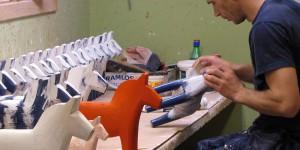 Werkstatt der Dala-Pferde