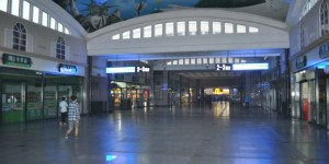 Bahnhof in Peking