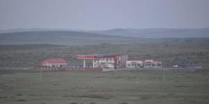 Tankstelle in der Einsamkeit