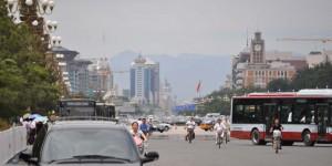 Straße in Peking