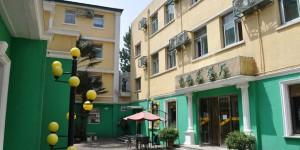 Innenhof vom Zhong-An Hotel