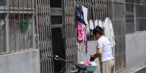 Wäsche trocknen im Hutong
