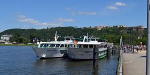 Schiffe auf der Mosel