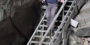 Treppe im Torghatten