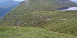 Wanderweg am Ben Nevis