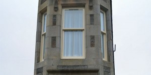 Schmale Fassade