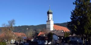 Kirche in Oberammergau