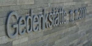 Gedenkstätte in Kaprun