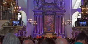 Pfingstmesse im Salzburger Dom