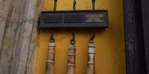 Klingel an Mozarts Geburtshaus