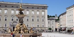 Brunnen auf dem Residenzplatz