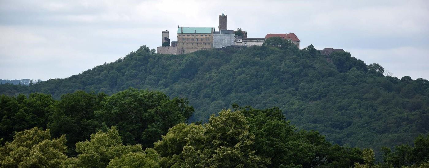 Ausblick zur Wartburg