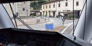 Tirano aus Sicht des Lokführers
