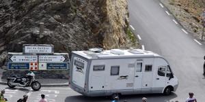 Col du Galibier mit dem Wohnmobil