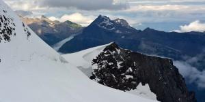 Ausblick am Jungfraujoch