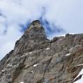 Spitze am Jungfraujoch mit Nottreppen