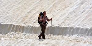 Wandern auf Eis