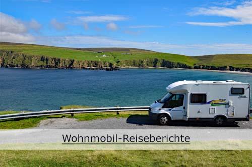 Reiseberichte mit dem Wohnmobil