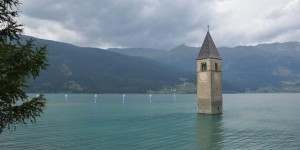 Kirchturm im Reschensee