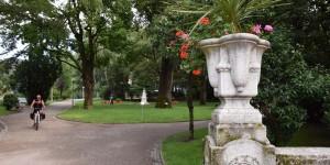 Elisabeth-Park in Meran