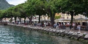 Promenade in Garda