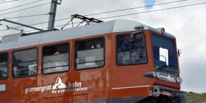 Die Gornergratbahn ist eine Zahnradbahn