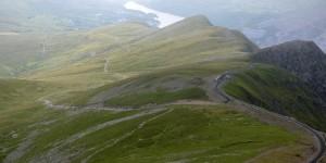 Wanderweg auf den Snowdon