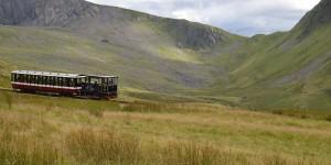Zahnradbahn auf den Snowdon