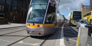 Straßenbahn in Dublin