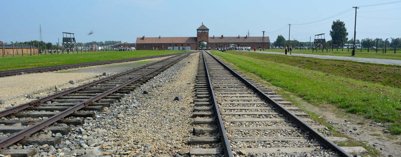 Rampe, wo die Gefangenen ankamen