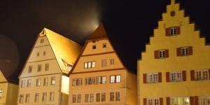 Licht über dem Dachfirst