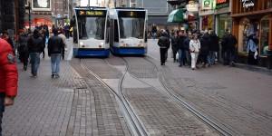 Einspurige Straßenbahn