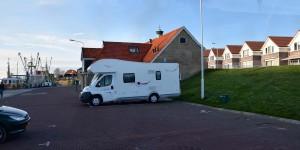 Wohnmobilstellplatz in Makkum