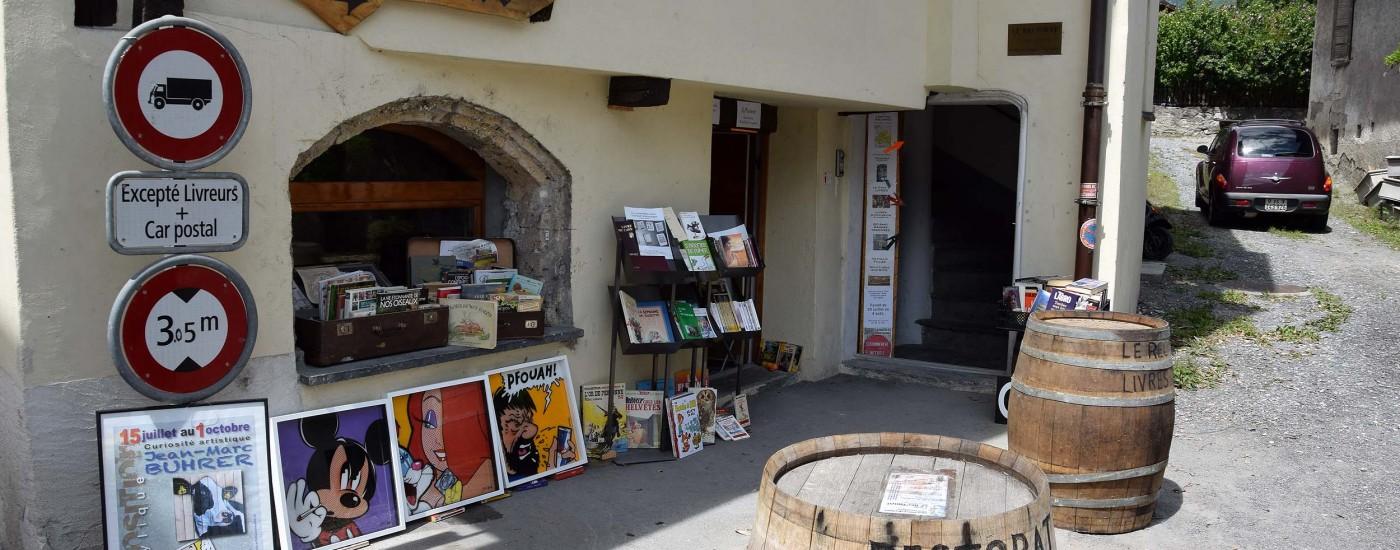 Buchladen in St-Pierre-de-Clages