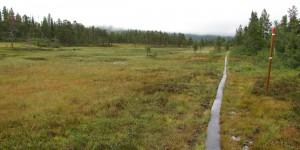Wanderung zum geografischen Mittelpunkt Norwegens