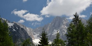 Berge im Triglav-Nationalpark