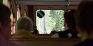 Im Inneren der Pilatusbahn
