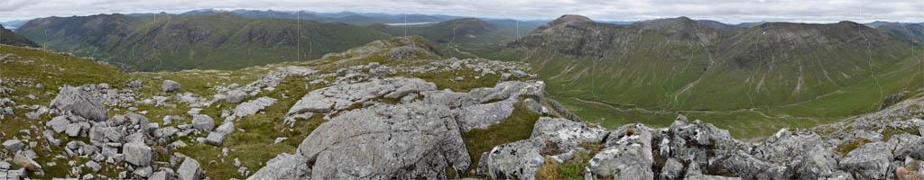Panorama auf das Glen Coe (13 MB, 23085x5710 Pixel)