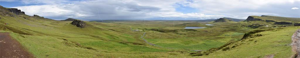 Panorama auf der Isle of Skye 2015 (8 MB, 14372x5503 Pixel)