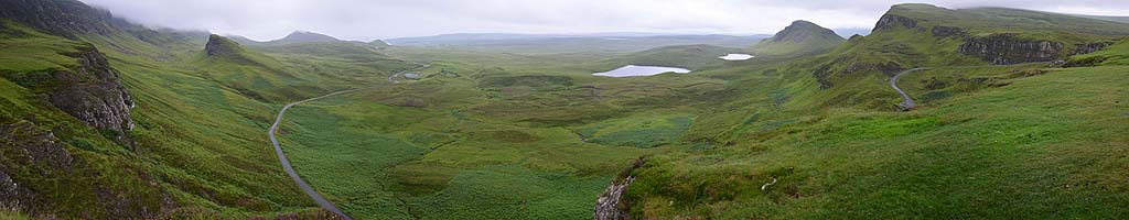 Panorama auf der Isle of Skye (4 MB, 15281x4002 Pixel)