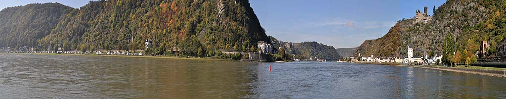 Panorama an der Loreley (3 MB, 8461x1024 Pixel)