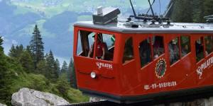 Rote Zahnradbahn