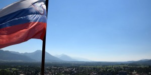 Slowenische Flagge