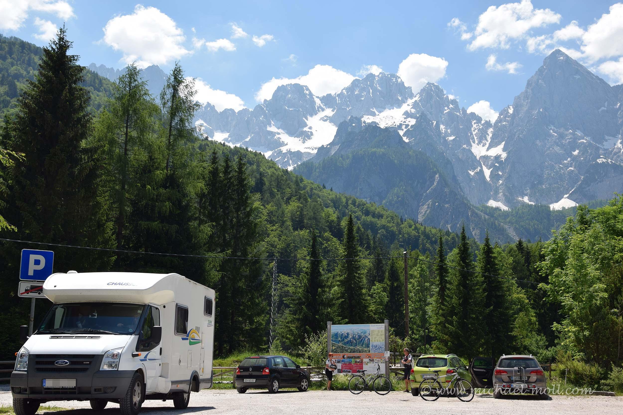 Wohnmobiltour durch Slowenien