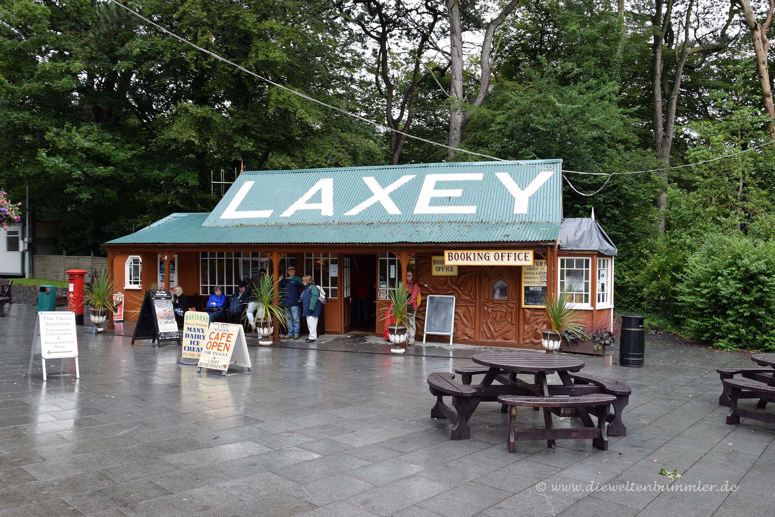 Bahnhof in Laxey
