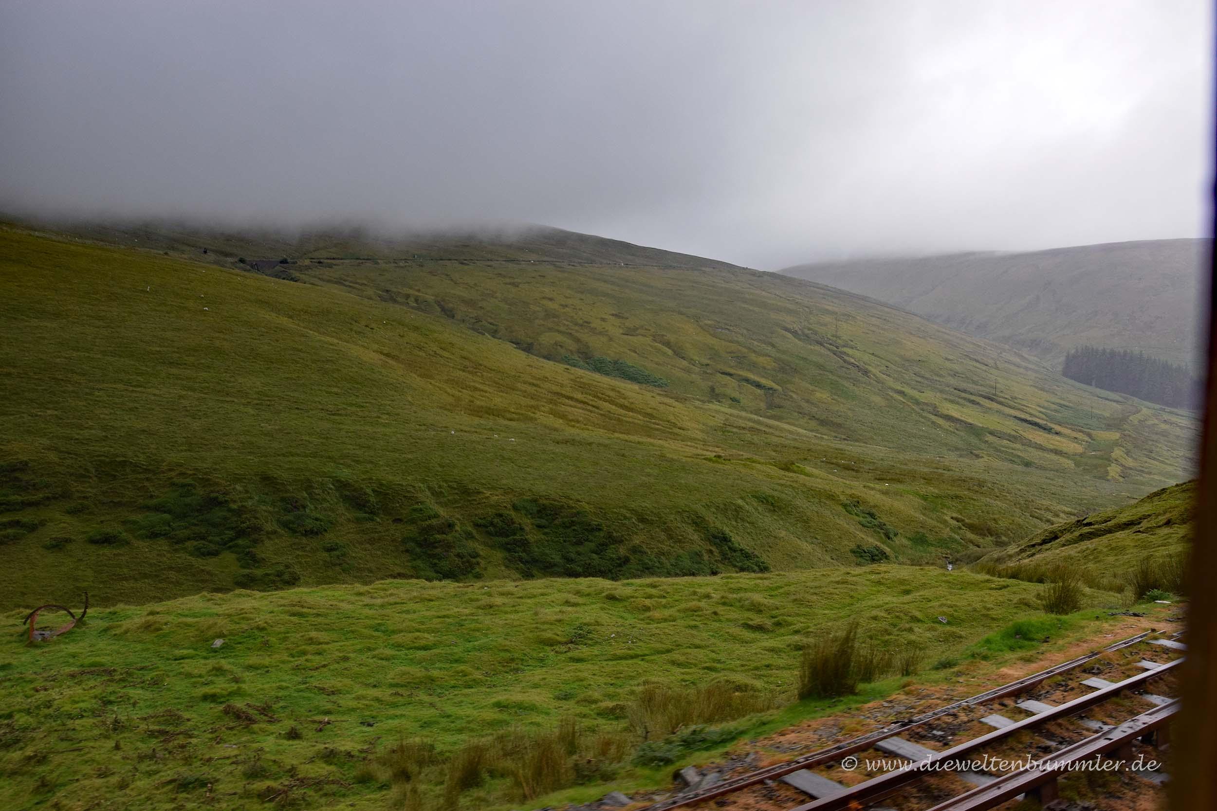 Isle of Man im Nebel