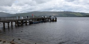 Steg am Loch Lomond